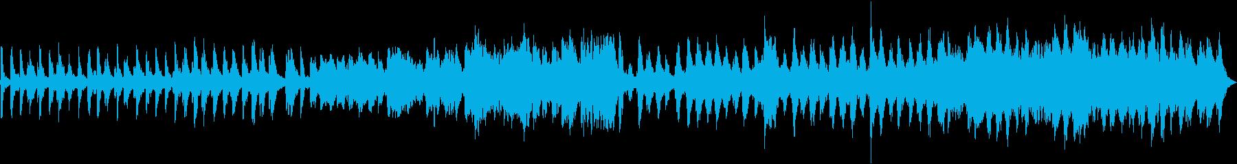 動画のBGMに使える木管ポップな小曲の再生済みの波形