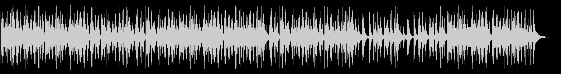 JSバッハのスタイルのエレガントで...の未再生の波形