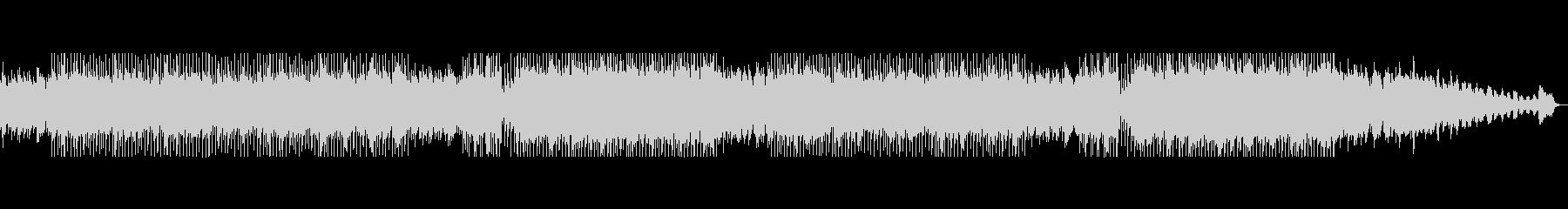 優しみアコースティックギターのBGMの未再生の波形