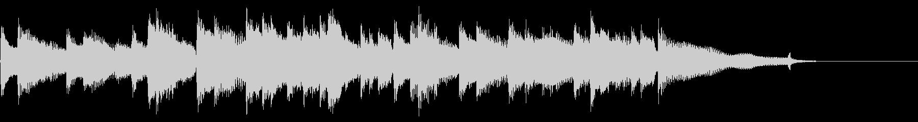 CM15秒、感動的なアコギとピアノ、日常の未再生の波形