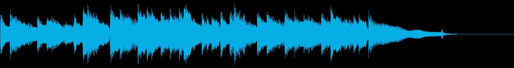 CM15秒、感動的なアコギとピアノ、日常の再生済みの波形