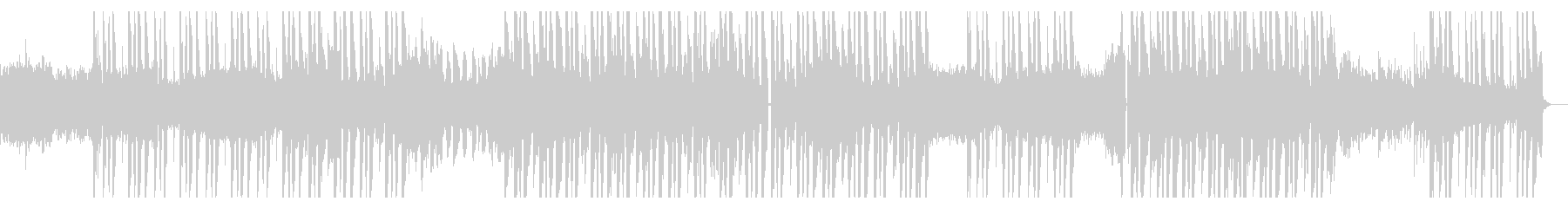 メロディアスなギターLofiヒップホップの未再生の波形