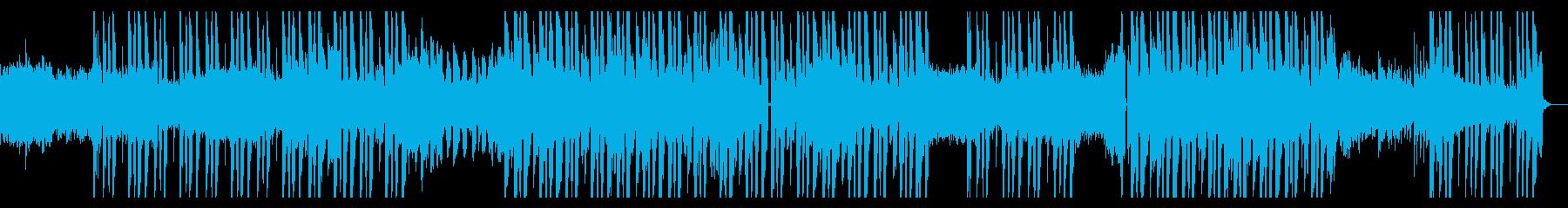 メロディアスなギターLofiヒップホップの再生済みの波形