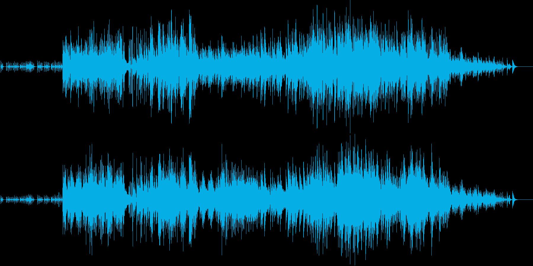 穏やか 優しい かわいい BGMの再生済みの波形