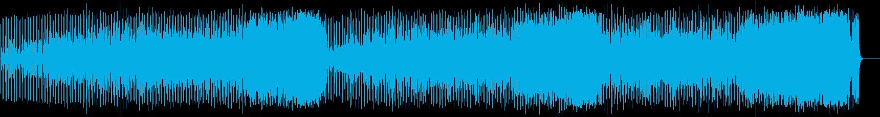 ダンサブルなポップ(フルサイズ)の再生済みの波形