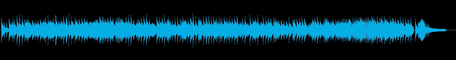 「ふるさと」叙情的なソロピアノアレンジでの再生済みの波形