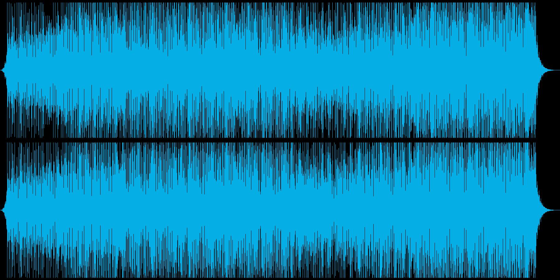 ハウスダンスの再生済みの波形