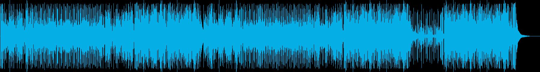 お洒落でJAZZYなHip Hopの再生済みの波形