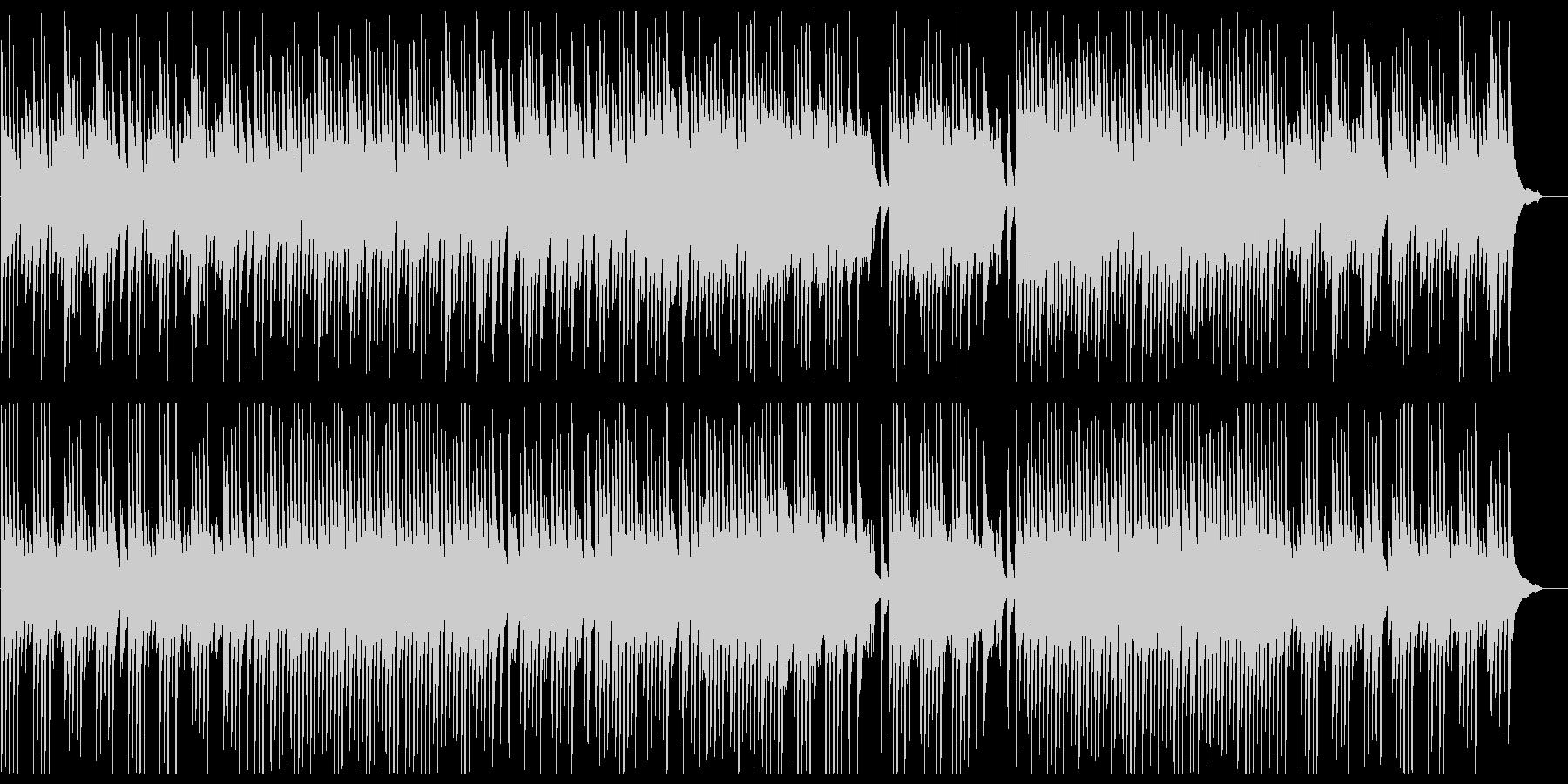 しっとりと優雅なピアノサウンドの未再生の波形