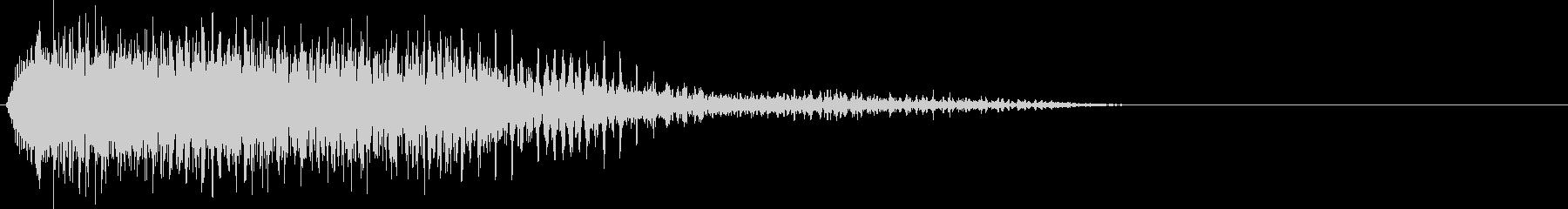 後を追うマルチピッチの音色革命の未再生の波形
