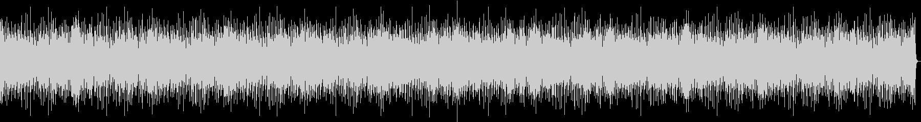 バンドサウンドの爽やかなブルースBGM3の未再生の波形