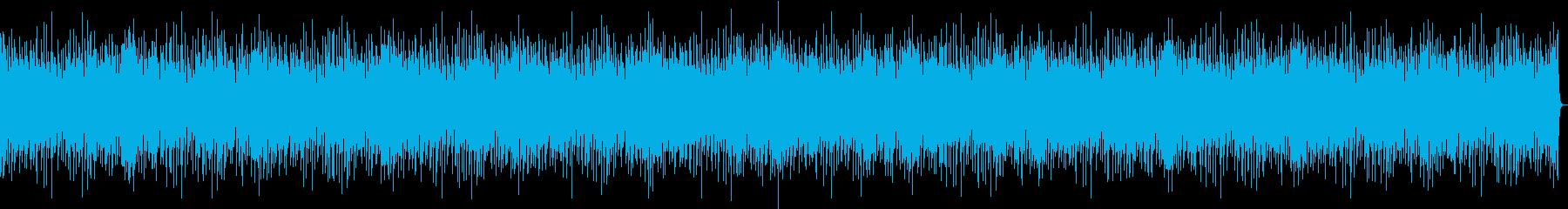 バンドサウンドの爽やかなブルースBGM3の再生済みの波形
