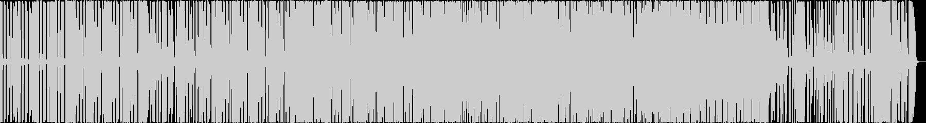 ファンクなギターとクラビネットの曲の未再生の波形