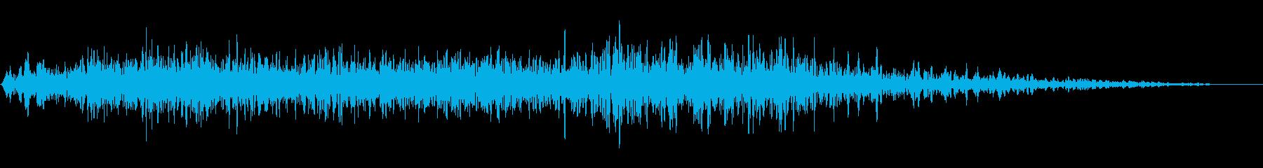 【 シェルター 】プシューバタン(重め)の再生済みの波形