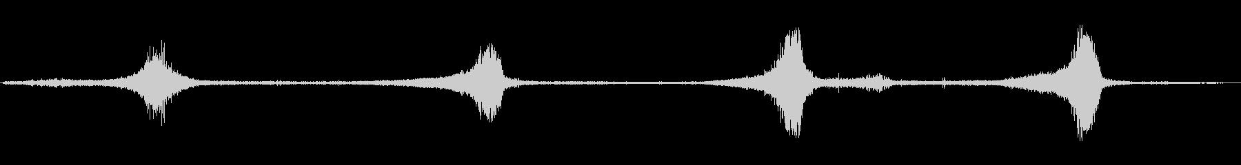 1985シェビーカマロ:4回ドライ...の未再生の波形
