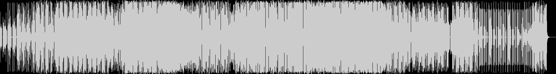 エレクトロ 技術的な エスニック ...の未再生の波形