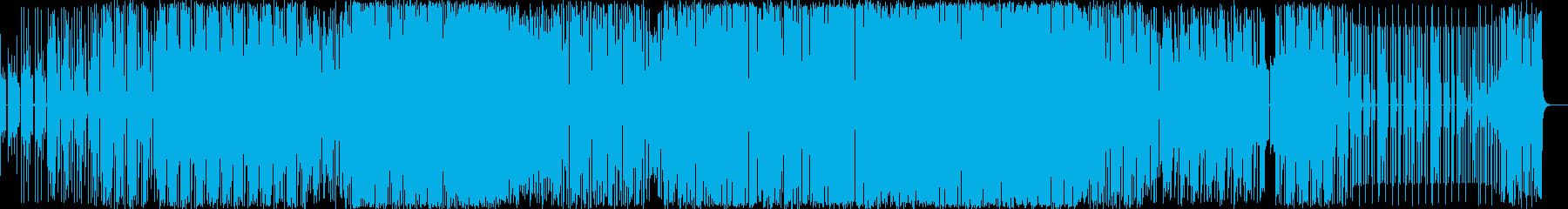 エレクトロ 技術的な エスニック ...の再生済みの波形