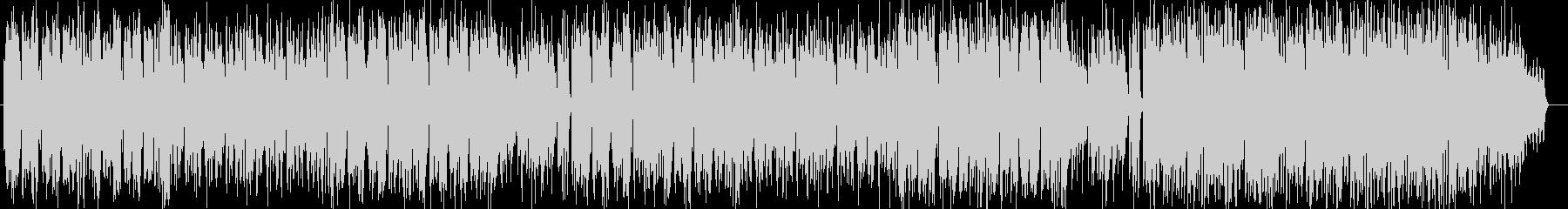 ボサノヴァ風シンセサイザー曲の未再生の波形