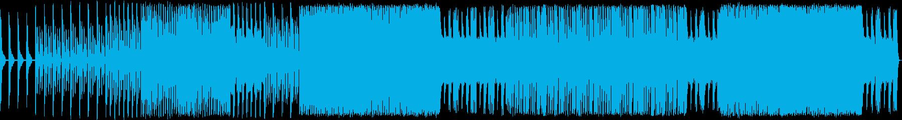 テクノ。クレイジー。恐れ。狂気。電...の再生済みの波形