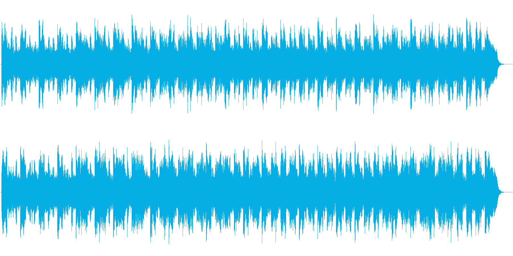 大らかで神秘的なSFテクノサウンドの再生済みの波形