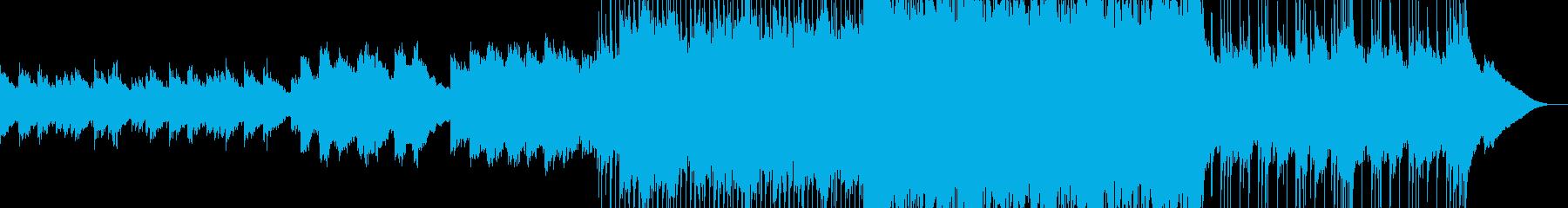 ピアノが奏でる!壮大なオープニングBGMの再生済みの波形