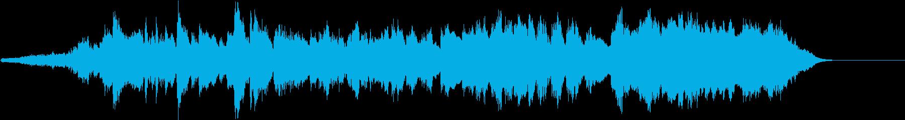 ラプソディー・イン・ブルー オーケストラの再生済みの波形