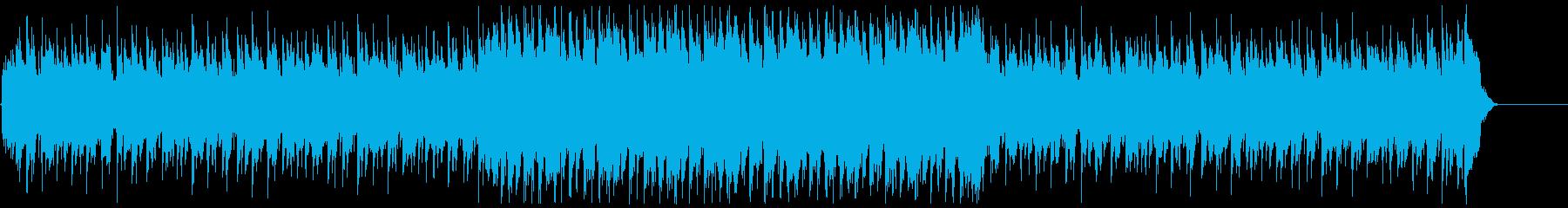 YouTube・夏の海・楽しいレゲエの再生済みの波形