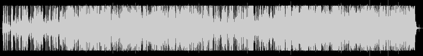 ファンクサウンドのショートテーマ曲。の未再生の波形