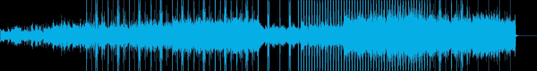幻想的で力強いチルアウトの再生済みの波形