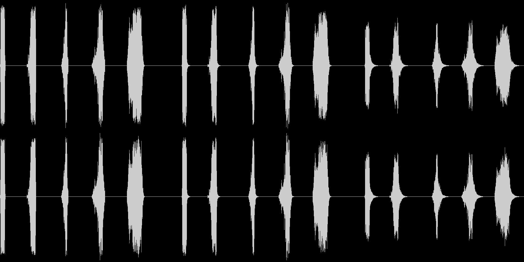 ワイヤープル、ショート、5バージョ...の未再生の波形