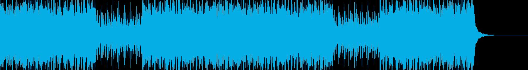 エジプト・アラビア・中東系BGMの再生済みの波形