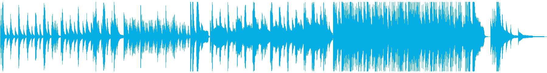 蝉の鳴く頃の再生済みの波形