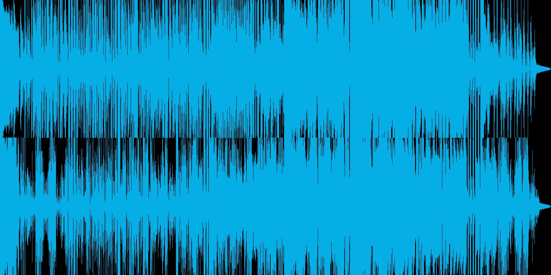 ショートムービーに使えるイメージの再生済みの波形