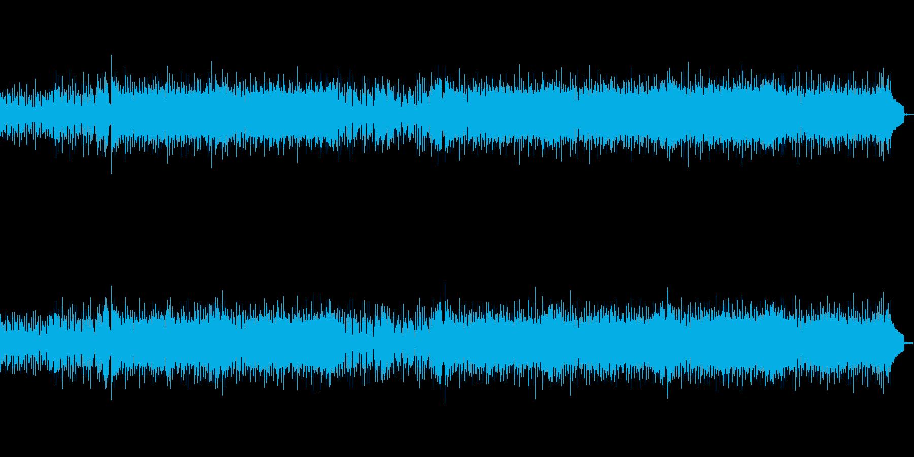 明るい琴がメインの和風POPSの再生済みの波形