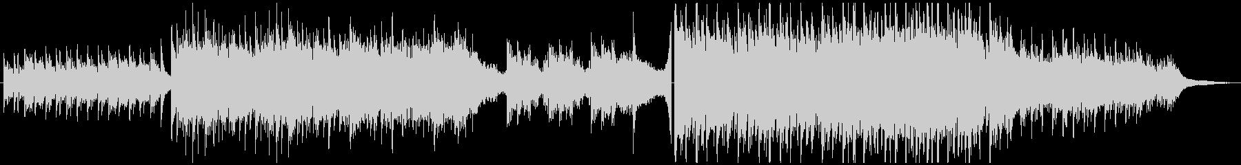 映像向け・ピアノ&弦の感動的な曲の未再生の波形