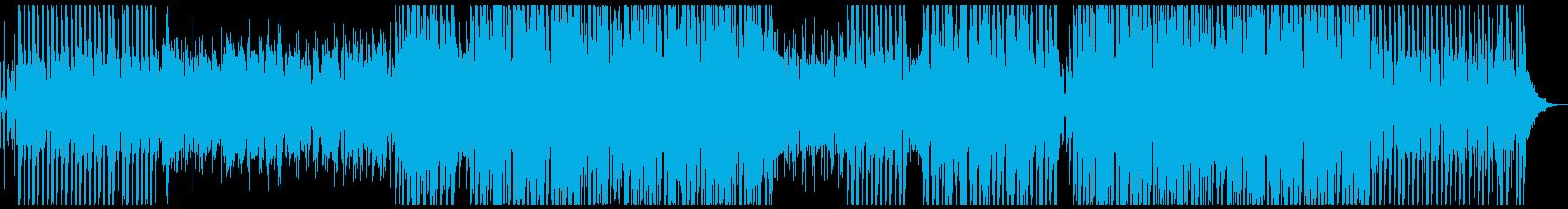 夏の海辺で聞きたいトロピカルハウスの再生済みの波形