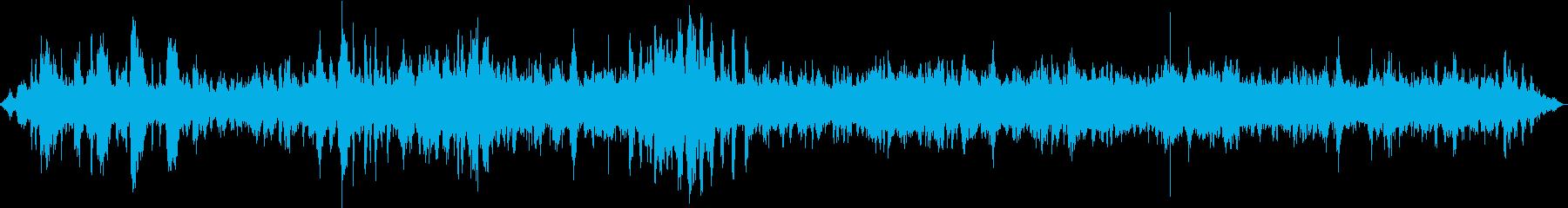 【生録音】休日の動物園の環境音の再生済みの波形