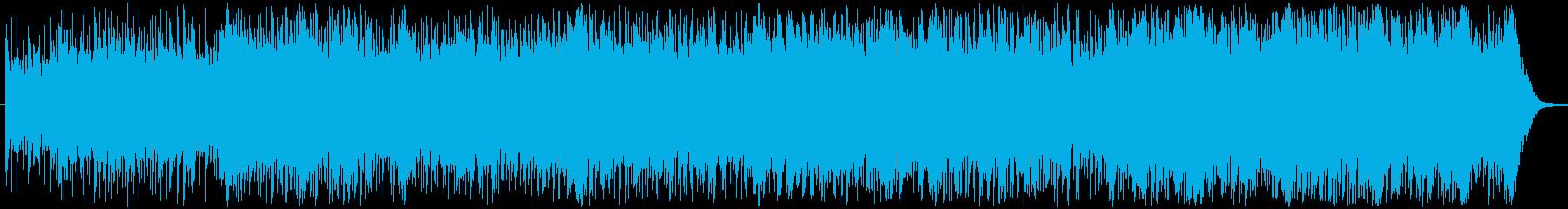 ストリングス、ホーン、ピアノ、前方...の再生済みの波形