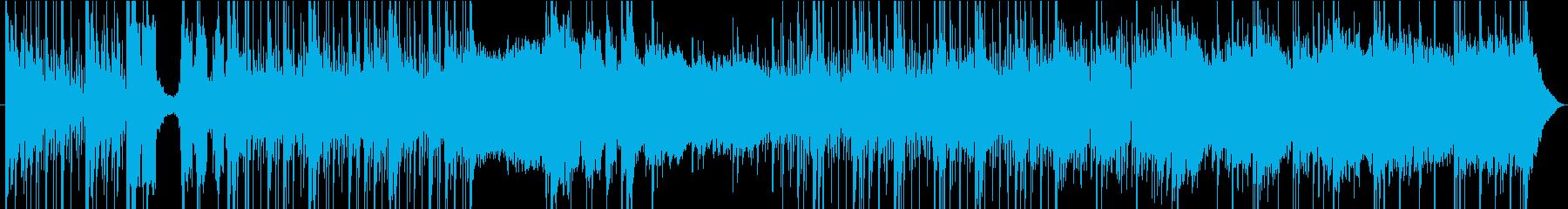 ポップ テクノ ロック ブレイクビ...の再生済みの波形