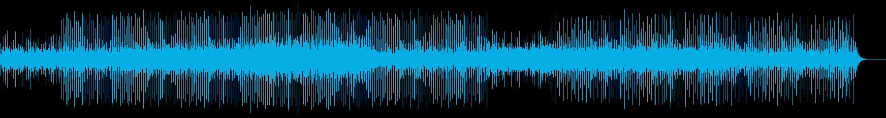 明るくポップで楽しい雰囲気のBGMの再生済みの波形