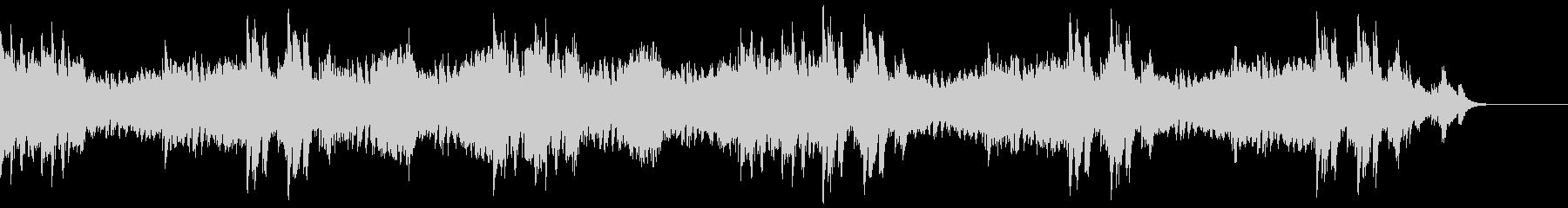 緊迫感のあるピアノソロ/サスペンスの未再生の波形