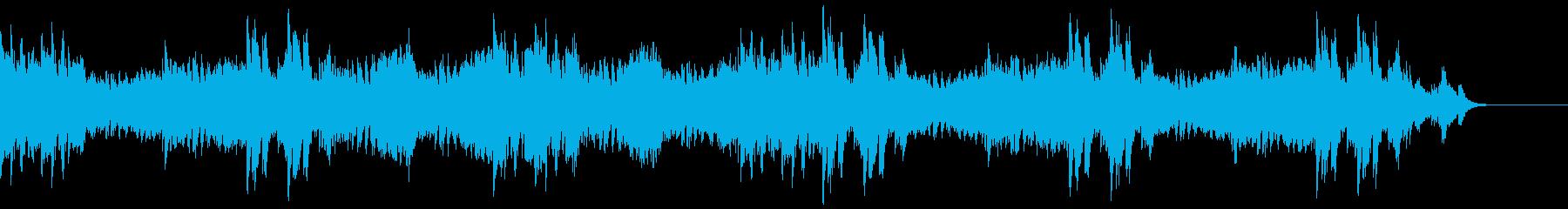 緊迫感のあるピアノソロ/サスペンスの再生済みの波形