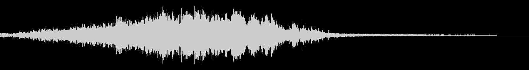 狂気の和風ジングル44-ピアノソロの未再生の波形