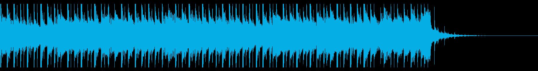 建物の成功(20秒)の再生済みの波形
