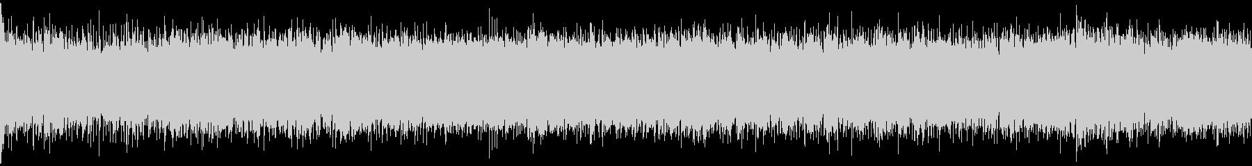 和風シネマティック戦闘音楽・ループの未再生の波形