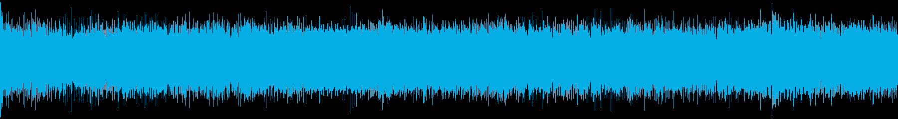 和風シネマティック戦闘音楽・ループの再生済みの波形