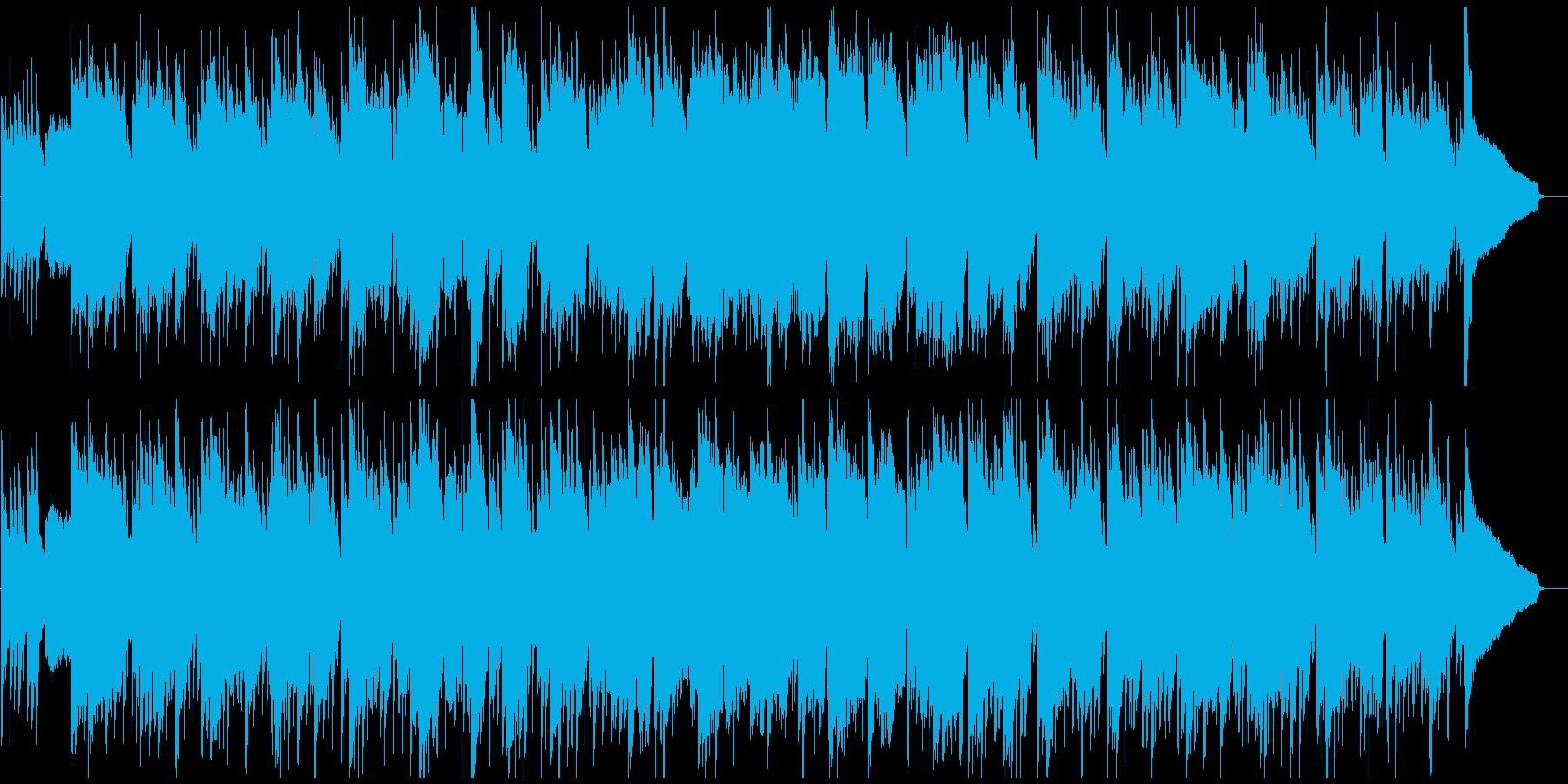 のどかで平和、幻想的な和風曲 篠笛生演奏の再生済みの波形