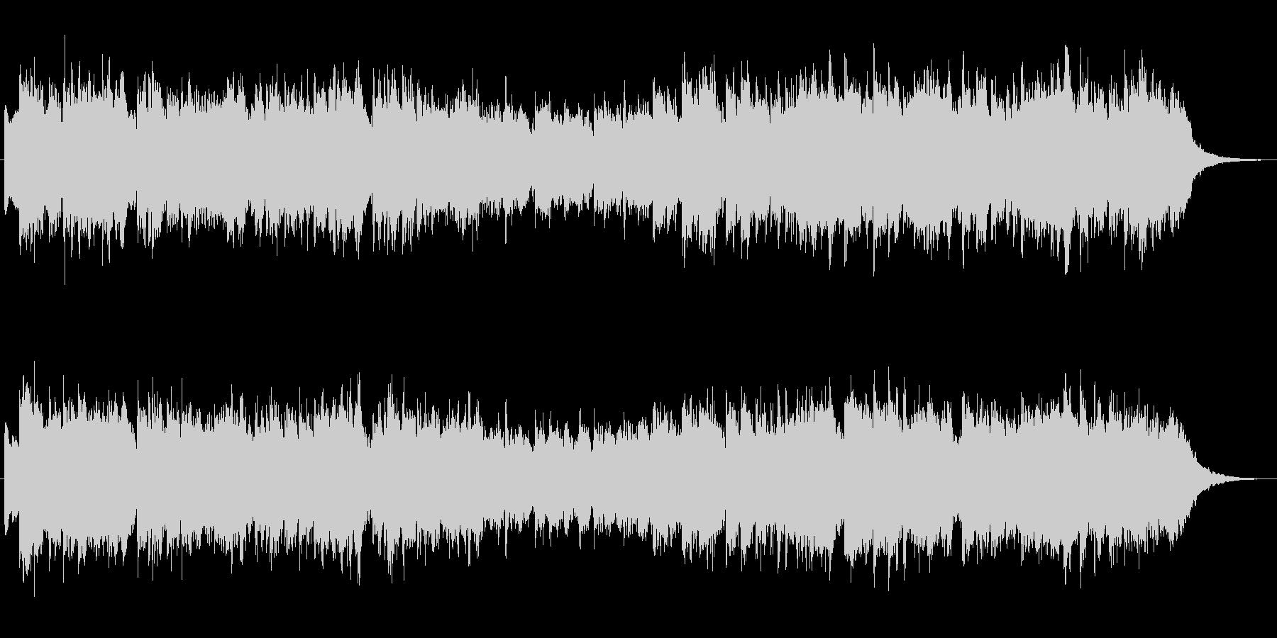 シンセブラスの印象的なジングル2の未再生の波形