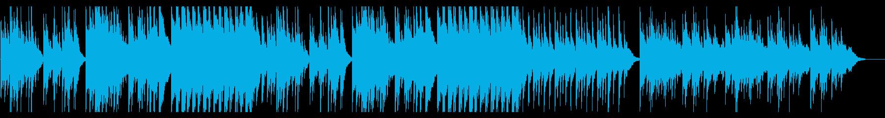 温もりと優しさと透明感のあるヒーリング曲の再生済みの波形