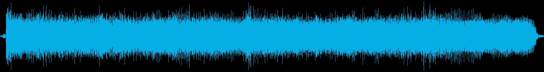 【エレキギター】R&Rリフの再生済みの波形